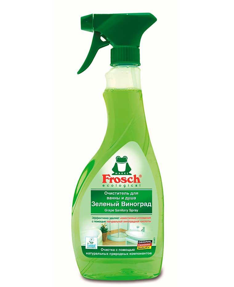 Средство для мытья ванной комнаты зеленый виноград, 500 мл, Frosch Фрош