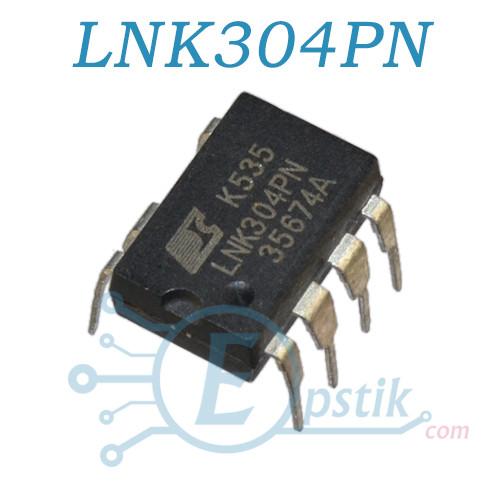 LNK304PN, ШИМ контроллер питания, DIP7