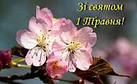 Колектив «Коса-Сервіс» Вітає зі святом Першим Травня!