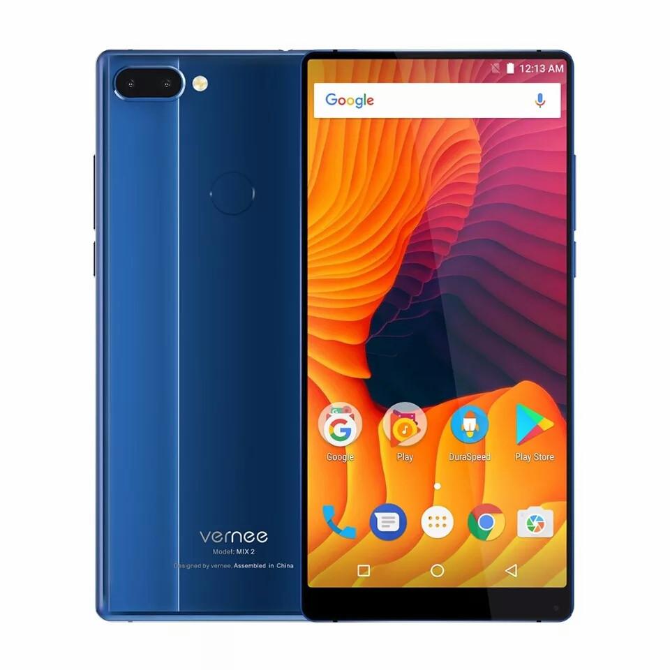 "Смартфон Vernee Mix 2 Blue 6"", 4/64 Gb, Helio P25 , 4200 mAh"