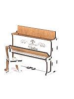 Деревянная мебель для куклы и кукольного домика Пианино, Украина 37752