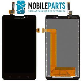 Дисплей для Lenovo P780 Sinaptics с сенсорным стеклом (Черный) Оригинал Китай