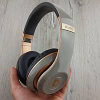 Накладные беспроводные Bluetooth наушники Beats Studio 3 by Dr. Dre Wireless серые