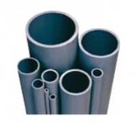 Труба ПВХ Gemas D110 мм жесткая серая PN10 напорная клеевая для бассейнов, водоснабжения, орошения и полива