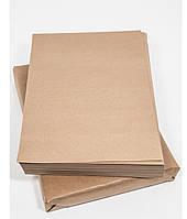 Крафт-бумага ПЛОТНАЯ формата А4, сеты (упаковка 500 л) пл. 120 г/кв.м.