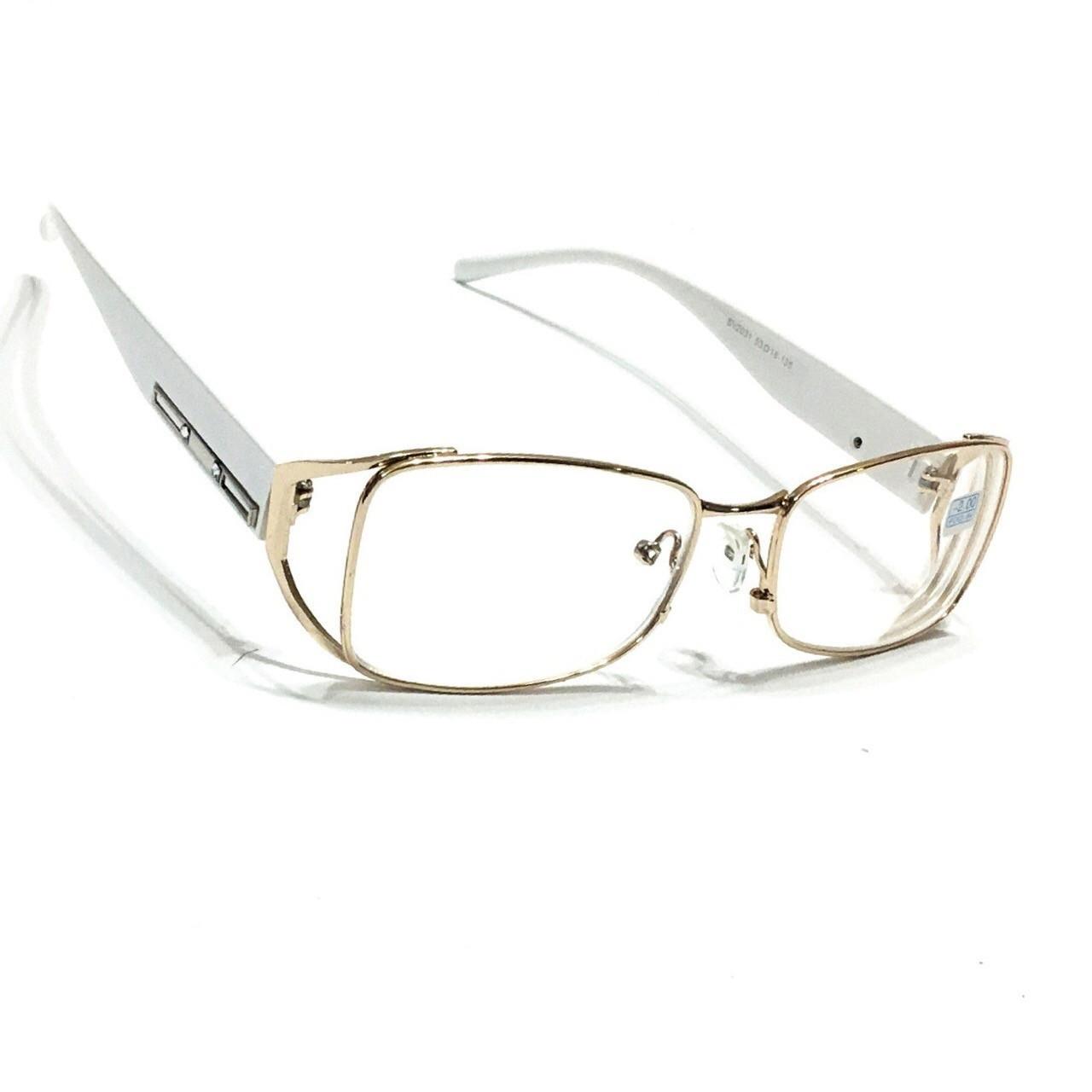 Женские очки для зрения с бликовой линзой