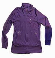Кофта эластан фиолетовая