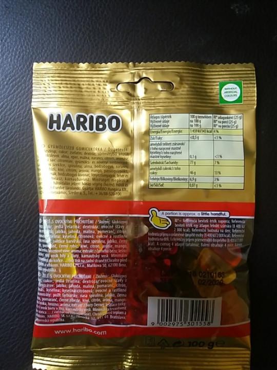 Жевальные конфеты Haribo 100g Венгрия