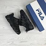 Женские кроссовки Fila Heritage Studio Spaghetti (черные), фото 4