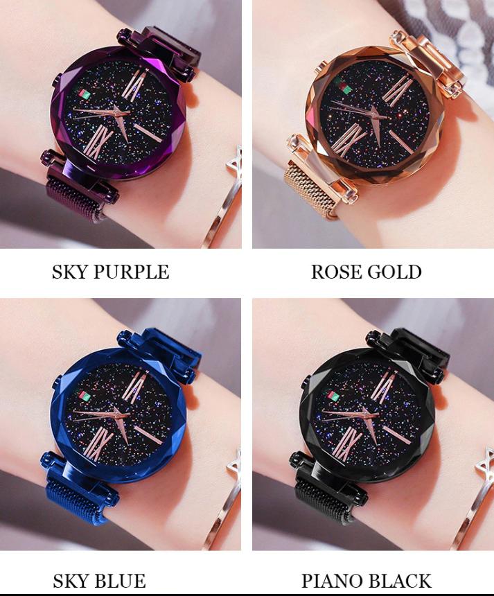Женские часы Starry Sky Watch на магнитной застёжке от 10шт