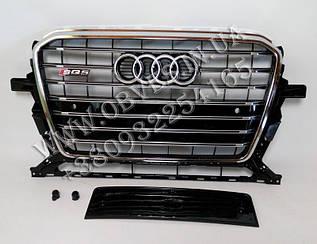 Решітка радіатора Audi Q5 2012-2015 стиль SQ5
