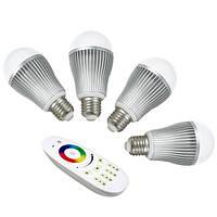 Новинка! Светодиодная лампа MiLight RGBW 9W WW E27