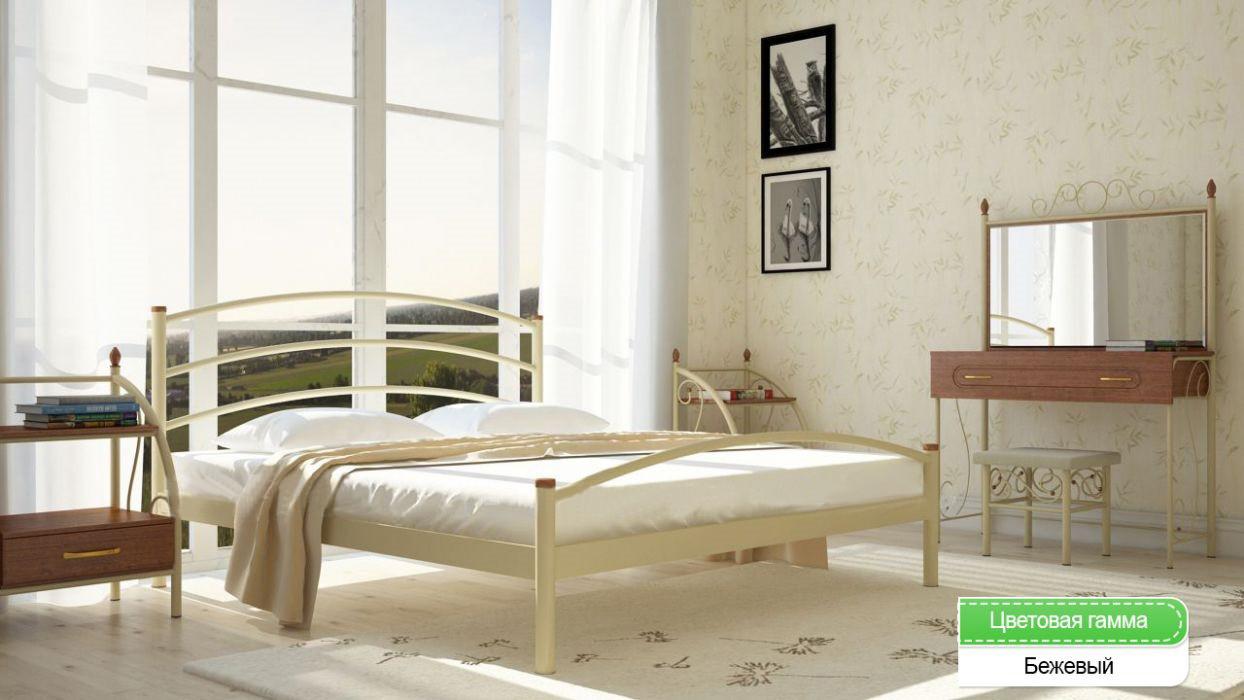Кровать Маргарита метал 160*190/200см Мет-Диз