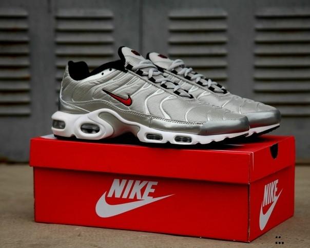 Nike Air Max Tn + Silver