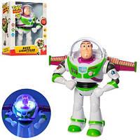 Баз лайтер, Історія іграшок, ходить, музика, світло, на батарейки, в коробці, 20-28-12 см