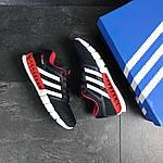 Мужские кроссовки Adidas Clima Cool (темно-синие с белым и красным), фото 5