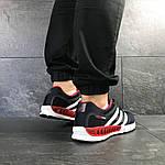 Мужские кроссовки Adidas Clima Cool (темно-синие с белым и красным), фото 4