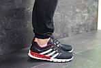Мужские кроссовки Adidas Clima Cool (темно-синие с белым и красным), фото 6