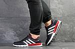 Мужские кроссовки Adidas Clima Cool (темно-синие с белым и красным), фото 7