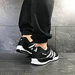 Чоловічі кросівки Adidas Clima Cool (чорно-білі), фото 5