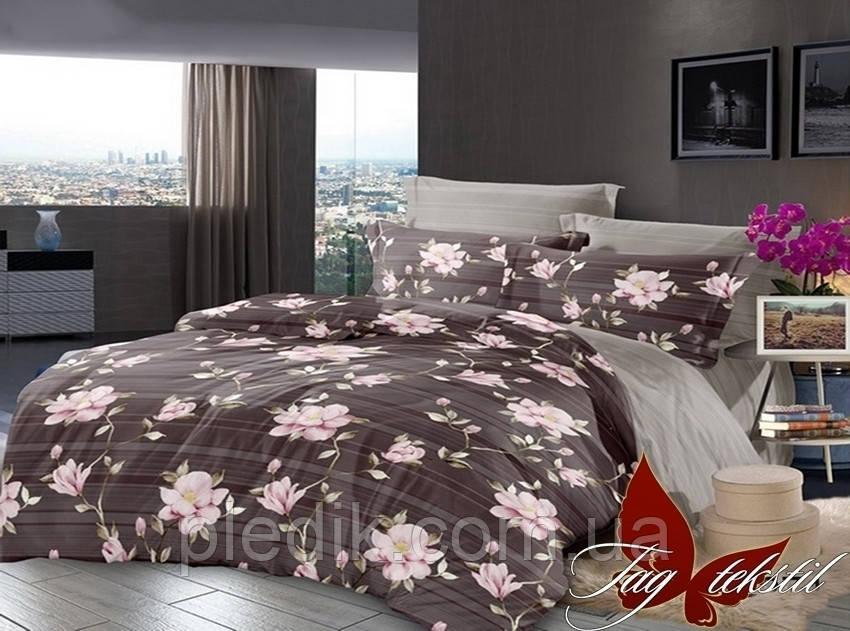 Комплект постельного белья сатин 180х220 TAG S271