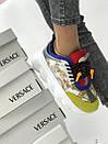 Кроссовки Versace ТОП Качество Текстиль+натуральная замша, фото 9