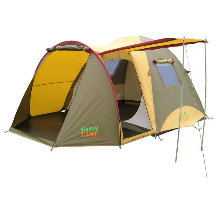 Палатка четырехместная GreenCamp GC1036