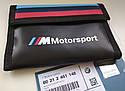 Оригинальный кошелек BMW M Motorsport Wallet, Black (80212461148), фото 4