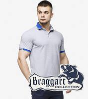 Рубашка поло мужская 6618 серый, фото 1