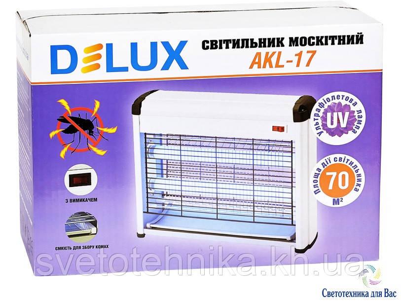 Ловушка (уничтожитель) насекомых Delux AKL17  S=до 70 м.кв.