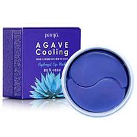 Гидрогелевые охлаждающие патчи для глаз с экстрактом Агавы Petitfee Agave Cooling Hydrogel Eye Mask, 60шт, фото 1