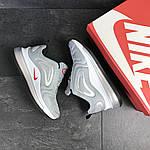 Чоловічі кросівки Nike Air Max 720 (світло-сірі), фото 2