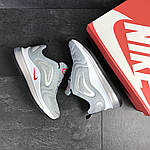 Мужские кроссовки Nike Air Max 720 (светло-серые), фото 2