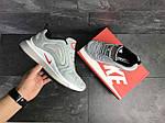 Чоловічі кросівки Nike Air Max 720 (світло-сірі), фото 3
