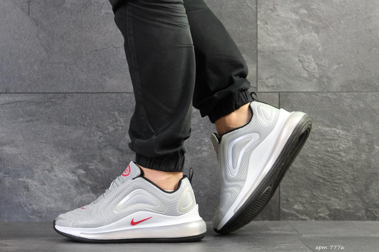 Чоловічі кросівки Nike Air Max 720 (світло-сірі)