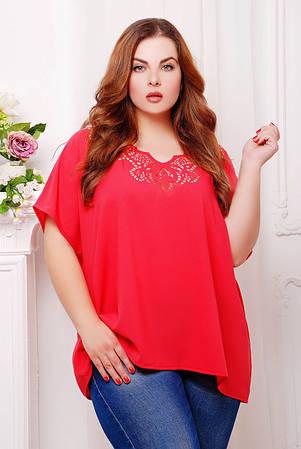 Блуза с перфорацией  МИРАНДА Разные цвета