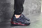 Чоловічі кросівки Nike Air Max 720 (темно-сині), фото 4