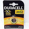 Батарейка DURACELL 2032 3V Lithium batteries Бельгия, фото 4