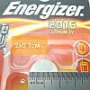 Батарейка Energizer 2016 3V Lithium batteries Китай, фото 3