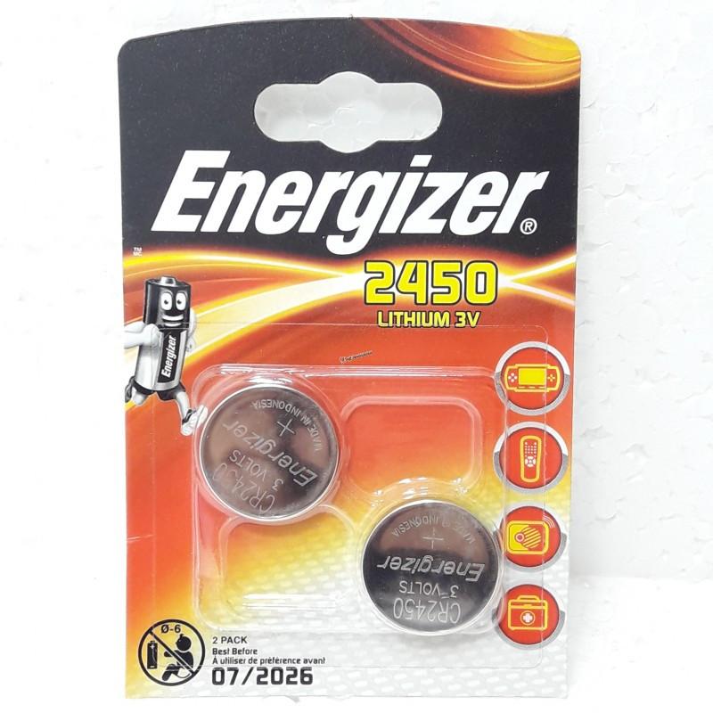 Батарейка Energizer 2450 3V Lithium batteries Индонозия