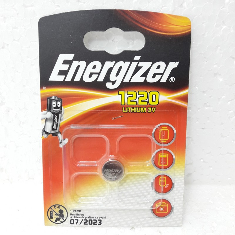 Батарейка Energizer 1220 3V Lithium batteries Япония