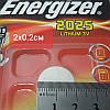 Батарейка Energizer 2025 3V Lithium batteries Китай, фото 3