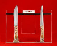 Подставка на 6 ножей (магнит)-пластик,охотничьи ножи,товары для рыбалки и охоты,оригинал ,качество,тур ножи
