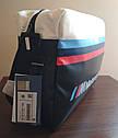 Городская сумка BMW M Motorsport Messenger Bag, Black/White (80222461144), фото 5