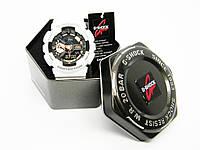 Часы CASIO G-SHOCK GA-110 реплика AAA  Белый с золотым, С упаковкой