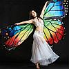 Крылья бабочки Noblest Art  для восточного танца, танца живота (LY3208)