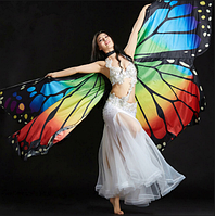 Крылья бабочки Noblest Art  для восточного танца, танца живота (LY3208), фото 1