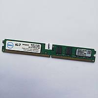 Оперативная память Kingston DDR2 2Gb 667MHz PC2 5300U LP CL5 (SNPKU354C/2G) Б/У