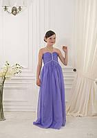 Элегантное длинное детское платье для вашей барышни