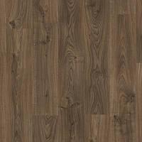 Виниловая клеевая плитка Quick Step LIVYN BALANCE GLU PLUS BAGP40027 Дуб котедж темно-коричневий